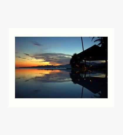 Bali Bliss Art Print
