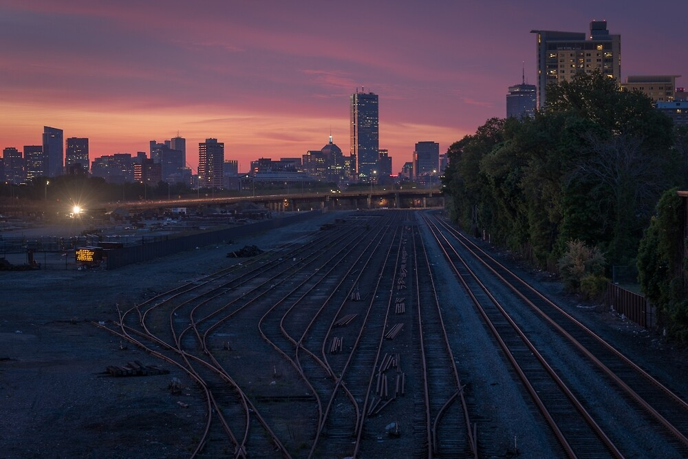 Allston Railyard, Boston. by mattmacpherson