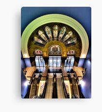 Escalation - QVB, Sydney - The HDR Experience Canvas Print