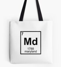 Periodic Maryland Tote Bag