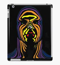 Contour Man (super-hero) iPad Case/Skin