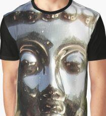 Silver Buddha Graphic T-Shirt
