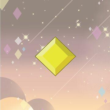 Yellow Diamond by RayBands21