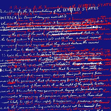 July 4th Declaration of Independence  by CzebraStudios