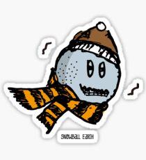 Snowball Earth Sticker