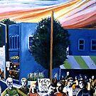 Fat City (NoDa, circa 1998) by Jerry Kirk