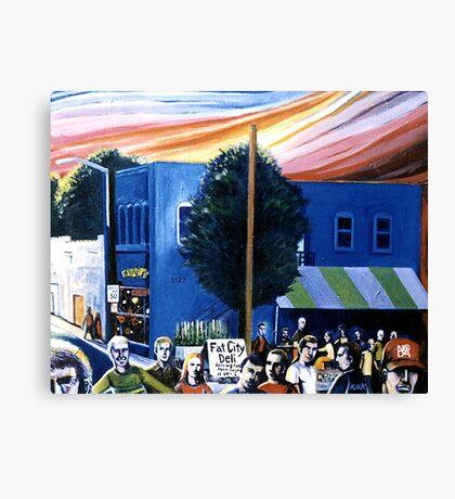 Fat City (NoDa, circa 1998) Canvas Print