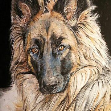 Gwendy (dog) by ChrisCheryl
