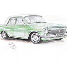 EH Holden 'Green Machine' by Joseph Colella