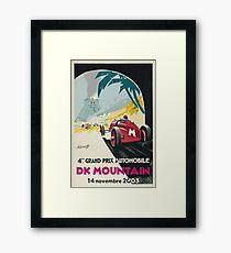 DK Mountain Grand Prix Framed Print