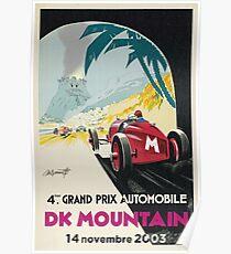 DK Berg Grand Prix Poster
