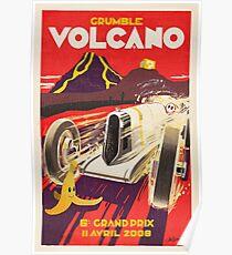 Grummel Volcano Grand Prix Poster