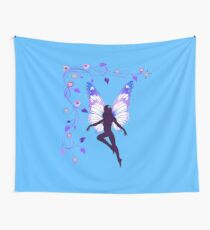 fairy with flowers and vines. Wall Tapestry