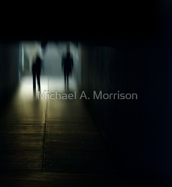 urb reverberation (The Arrival)  by Michael A. Morrison
