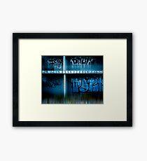 urb reverberation (Discovery)  Framed Print