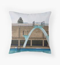 Outdoor pool Throw Pillow