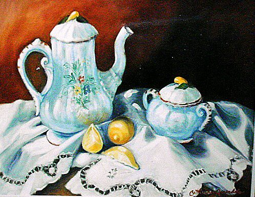 Tea  For My Mother by Cathy Amendola
