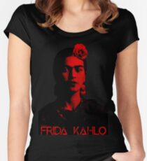 Frida Kahlo (Ver 8.2) Women's Fitted Scoop T-Shirt