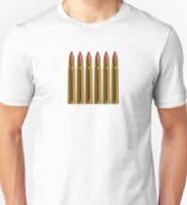 Magnum 375 rifle bullet Unisex T-Shirt