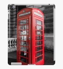 Telephone Box in London Fine Art iPad Case/Skin