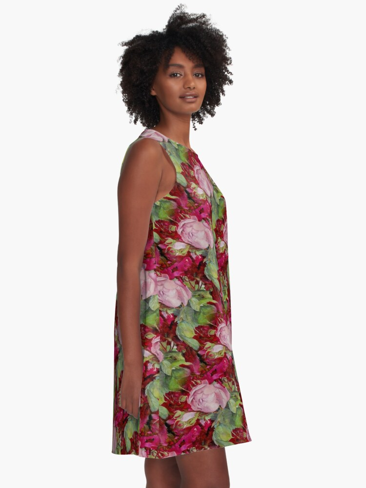 Alternate view of Old roses A-Line Dress