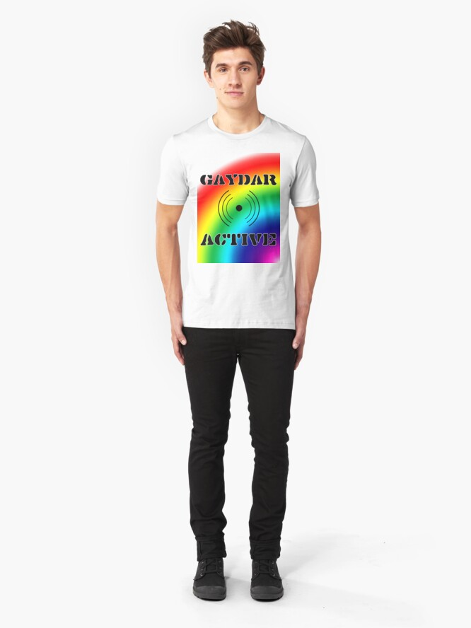 Alternate view of Gaydar Active I Slim Fit T-Shirt