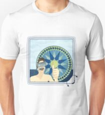 Snorkeling with Mariner's Compass Unisex T-Shirt