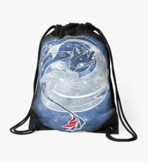 The Last Starry Dragons Drawstring Bag