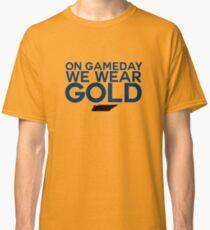 On Gameday We Wear Gold - Nashville Predators Classic T-Shirt