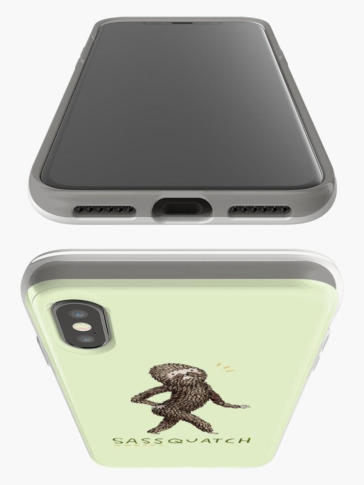 Alternate view of Sassquatch iPhone Case & Cover