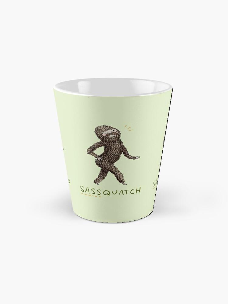 Alternate view of Sassquatch Mug