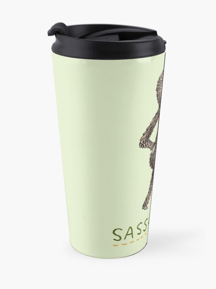 Alternate view of Sassquatch Travel Mug