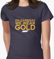 On Gameday We Wear Gold - Nashville Predators Women's Fitted T-Shirt