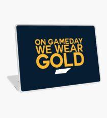 On Gameday We Wear Gold - Nashville Predators Laptop Skin