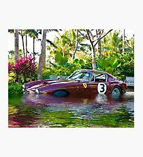 Ferrari 1951 212 Export Vignale Cabriolet, Under Water Photographic Print