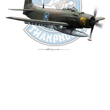VNAF A-1H - 83rd SOG with background Logo by ACVuConcepts