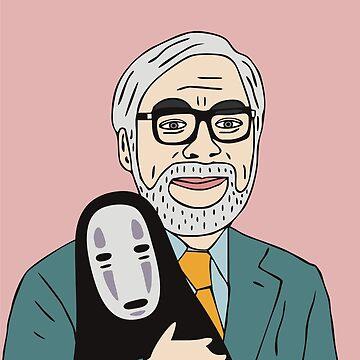 Hayao Miyazaki by marinayahooo