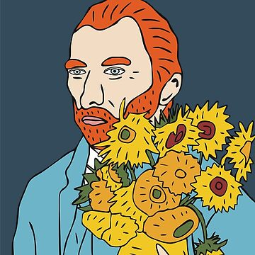 Vincent van Gogh by marinayahooo