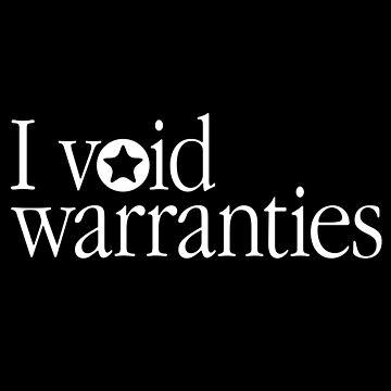 I VOID WARRANTIES by w1ckerman