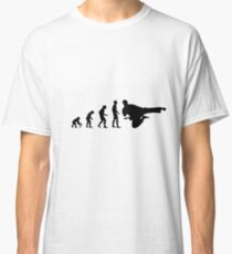 Evolution martial artist Classic T-Shirt