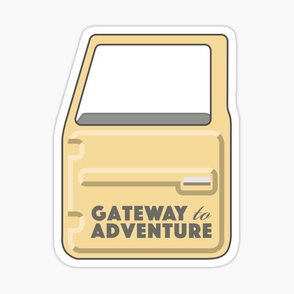 Gateway to Adventure Sticker