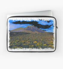Volcano drawn Art Laptop Sleeve