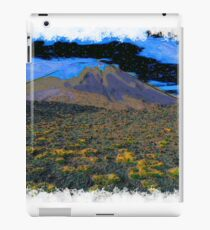 Volcano drawn Art iPad Case/Skin