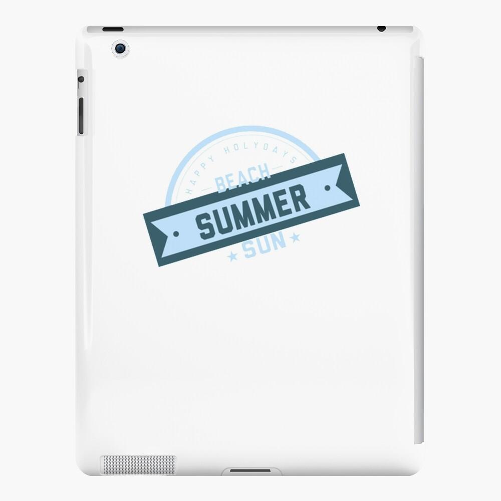 Beach Summer Fun iPad-Hülle & Skin