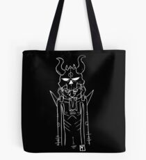 Skull Head Dude Tote Bag