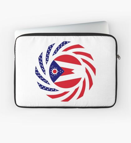 Ohio Murican Patriot Flag Series Laptop Sleeve