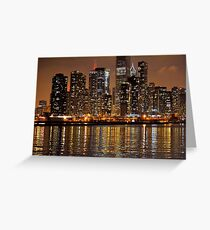 Chicago Lights Greeting Card