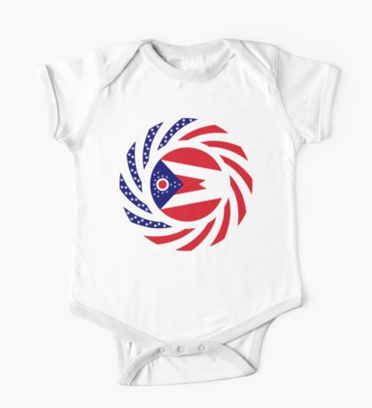 Ohio Murican Patriot Flag Series Kids Clothes