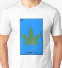 5f90c830 La Mota Mexican Loteria Bingo Funny Parody Card Slim Fit T-Shirt