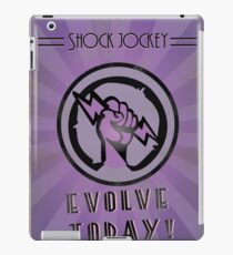 Shock Jockey Poster  iPad Case/Skin